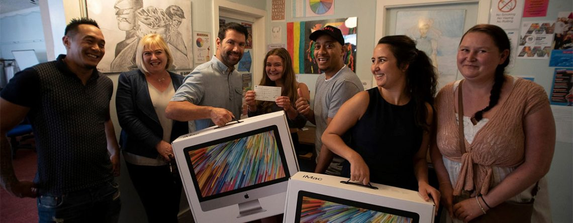 Mac donations by the team