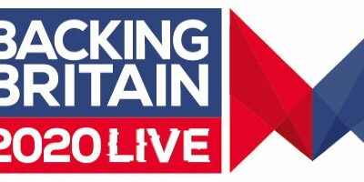 backing britain 2020 live logo